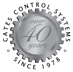 Cates Control Systems 40-year logo Cates has provided industrial automation solutions for over 40 years in Houston & Dallas