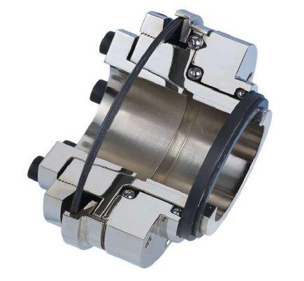 Cutaway View of Mechanical Torque Limiter