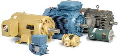 Baldor Motors - Cates Control Solutions - Houston, Dallas (DFW), San Antonio, Austin TX