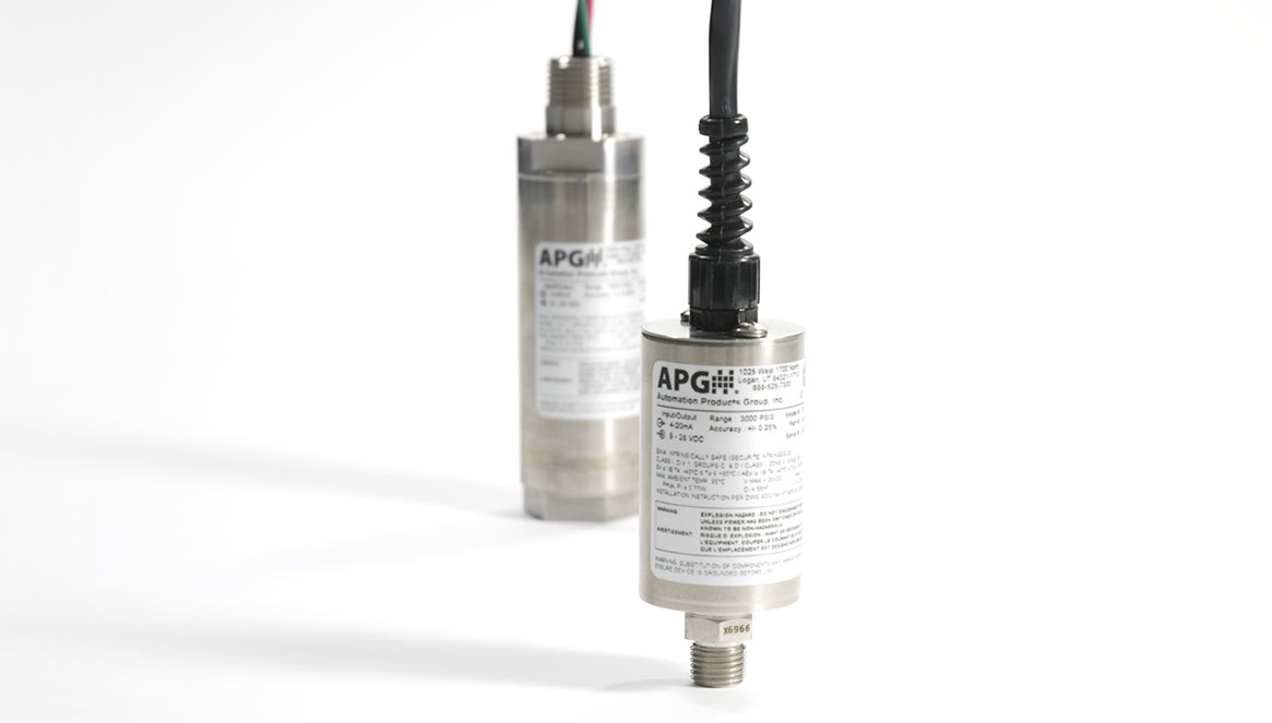 Cates Control Solutions - APG Transducers